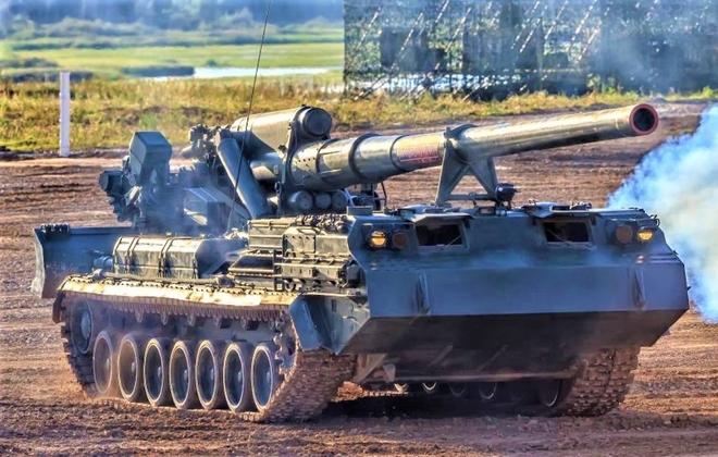 """Pháo tự hành chết chóc nhất thế giới """"Malka"""" sẽ được trang bị đạn thế hệ mới - Ảnh 3."""