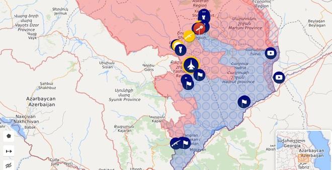 Azerbaijan tỏ thái độ lạ trước tin bắn hạ Su-25 Armenia - Thổ chặn đường, máy bay của Bộ QP Nga buộc phải có hành động bất thường - Ảnh 1.