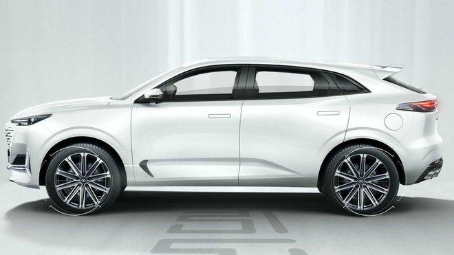 Soi mẫu ô tô Trung Quốc vay mượn thiết kế từ châu Âu, giá 600 triệu chào khách - Ảnh 4.