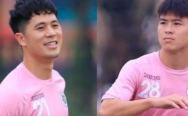 Hà Nội FC chào đón Đình Trọng và Duy Mạnh trở lại sau chấn thương
