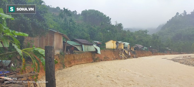 Thêm vụ sạt lở ở Trà Leng, một ngôi làng bị xoá sổ - Ảnh 1.