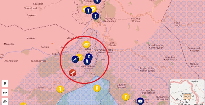Chiến sự Azerbaijan-Armenia dồn dập tin nóng: Chốt chặn cuối cùng lâm nguy -  Xung đột Israel-Iran có thể bùng nổ - Ảnh 2.
