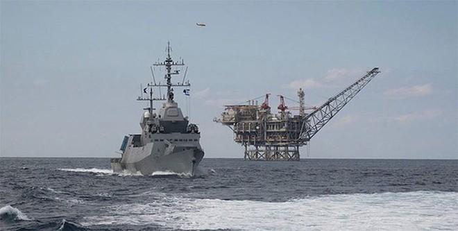 Israel nhận chiến hạm tàng hình mới siêu khủng: Xứng tầm soái hạm mạnh nhất Trung Đông - Ảnh 2.