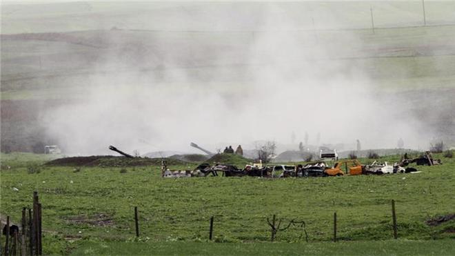 Chiến sự Azerbaijan-Armenia dồn dập tin nóng: Đặc biệt dữ dội và khốc liệt gần Shusha Azerbaijan thiệt hại nặng ở cối xay thịt - Ảnh 1.
