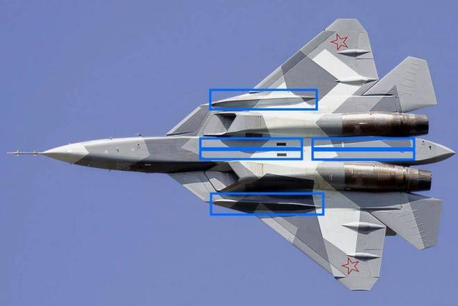 Tiêm kích Su-57 Nga sao chép chi tiết chiến đấu tối quan trọng của F-22 Mỹ: Hé lộ bất ngờ! - Ảnh 1.