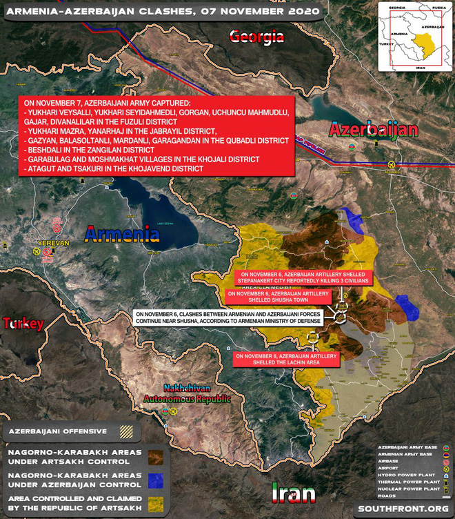 Chiến sự Azerbaijan-Armenia dồn dập tin nóng: Đặc biệt dữ dội và khốc liệt gần Shusha Azerbaijan thiệt hại nặng ở cối xay thịt - Ảnh 2.