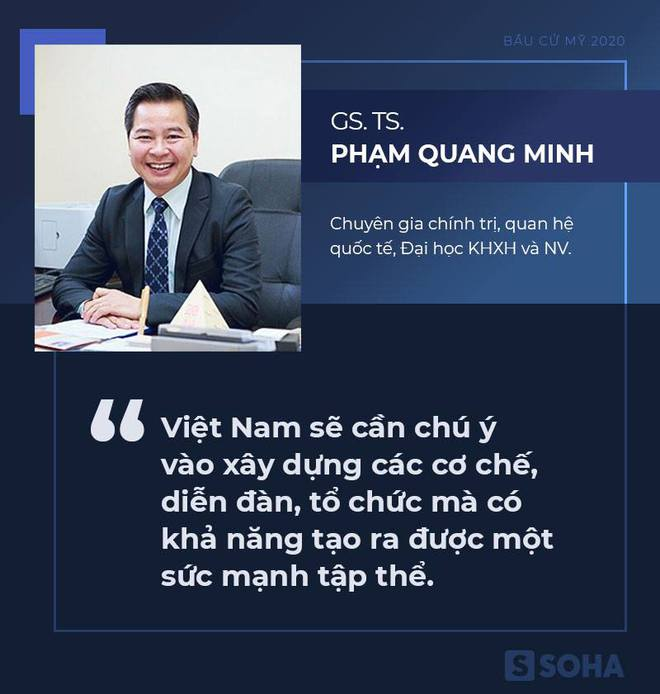 [Bàn tròn chuyên gia] Đại sứ Phạm Quang Vinh: Xu hướng của Mỹ mà cả Obama, Trump đến Biden đều phải đi theo - Ảnh 1.