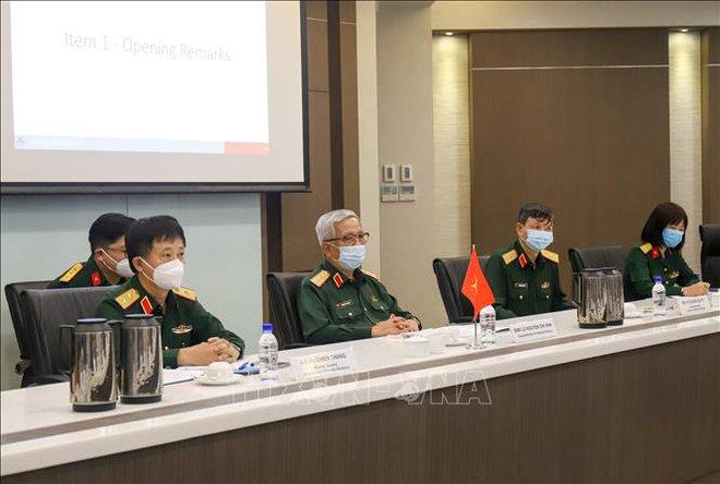 Đối thoại Chính sách Quốc phòng Việt Nam - Singapore lần thứ 11 - Ảnh 2.