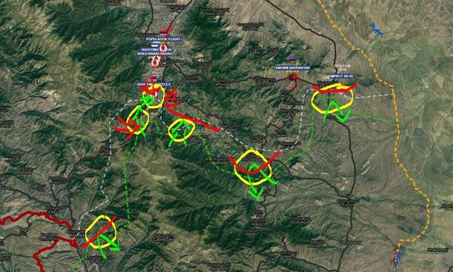Tử chiến ở Shusha: QĐ Armenia đập tan công kích của đối phương, diệt hàng chục cơ giới và UAV? - Ảnh 2.