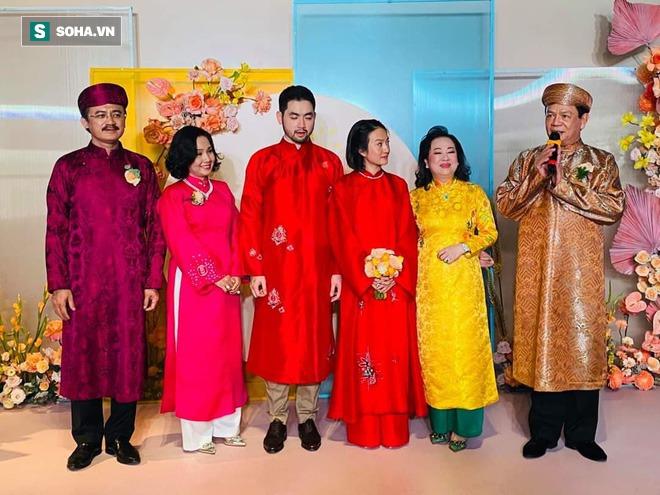 Con trai bầu Thắng kết hôn cùng con gái chúa đảo Tuần Châu - Ảnh 1.