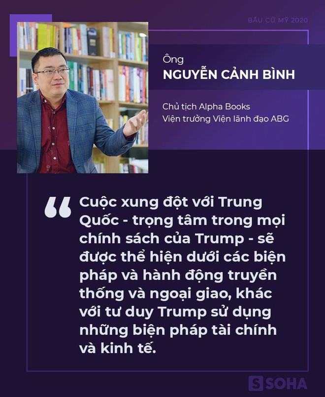 [Bàn tròn chuyên gia] GS Thayer: Mỹ sẽ không thay đổi bác bỏ yêu sách trái phép của Trung Quốc ở Biển Đông nếu ông Biden làm Tổng thống - Ảnh 1.