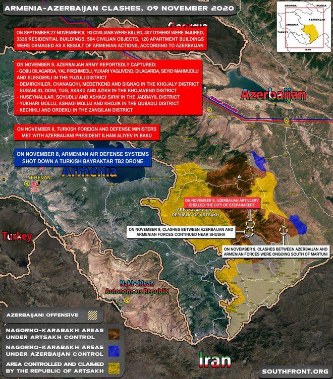 Rộ tin 4 lính Mỹ thiệt mạng - Shusha sụp đổ, Azerbaijan mở toang cánh cửa chọc thẳng vào trái tim Stepanakert - Ảnh 1.