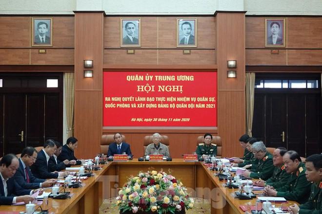 Quân ủy Trung ương họp bàn nhiệm vụ quân sự, quốc phòng 2021 - Ảnh 3.