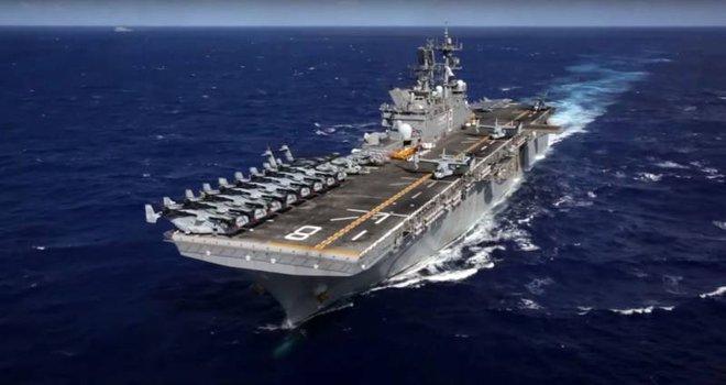 Biển Đông: PLA gầm ghè tàu sân bay trực thăng Mỹ, Hoàn Cầu cảnh báo gắt về chính quyền Biden - Ảnh 2.