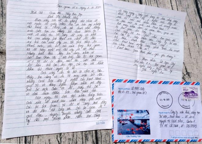 Lá thư đặc biệt từ Trại giam số 3 - Ảnh 2.