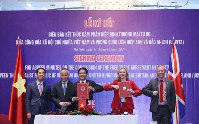 Chính thức ký kết FTA Việt Nam - Anh