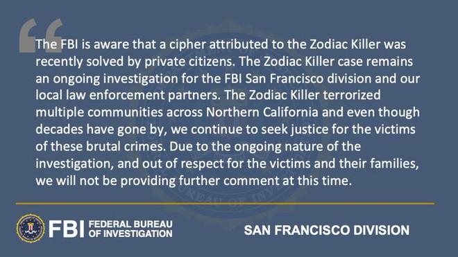 Bức mật thư của kẻ sát nhân khiến FBI truy lùng 51 năm vừa được bẻ khóa: Lời thú tội gây lạnh sống lưng - Ảnh 3.