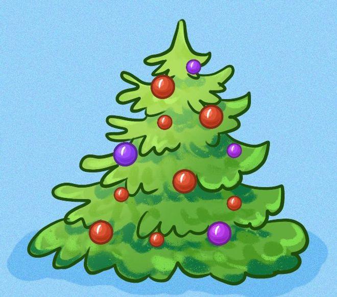 Kiểu trang trí cây thông noel tiết lộ tính cách: Bạn chọn cây thông số mấy để thể hiện mình? - Ảnh 1.