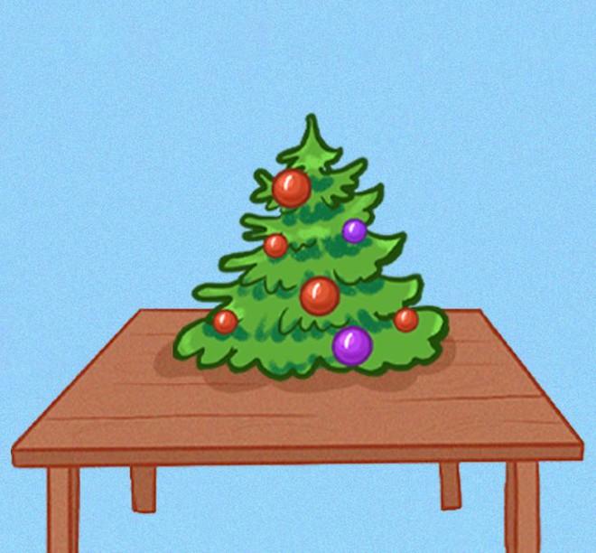 Kiểu trang trí cây thông noel tiết lộ tính cách: Bạn chọn cây thông số mấy để thể hiện mình? - Ảnh 6.