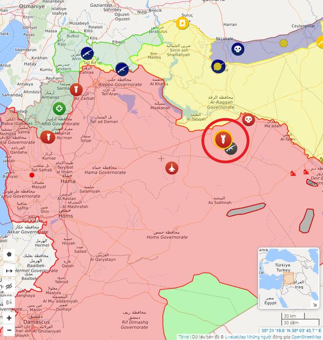 Chiến trường Syria rung chuyển, Nga giội bão lửa xuống đầu quân khủng bố - Biên giới căng thẳng, xe tăng Israel bất ngờ khai hỏa - Ảnh 1.