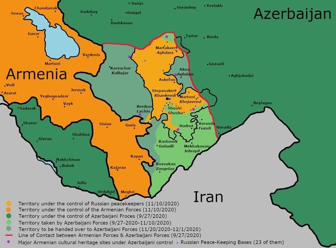 Xung đột Karabakh: Vì sao Azerbaijan quyết tâm tấn công, vuốt mặt không nể mũi Nga? - Ảnh 1.