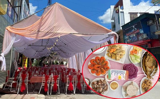 """Cô gái """"bỏ bom"""" 150 mâm cỗ cưới ở Điện Biên hứa trả tiền cho chủ nhà hàng"""