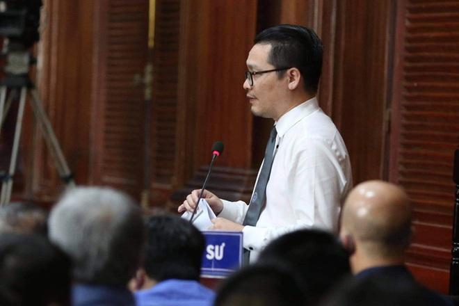 Cơ quan công tố yêu cầu bị cáo Đinh La Thăng điều chỉnh lời nói, thái độ - ảnh 1