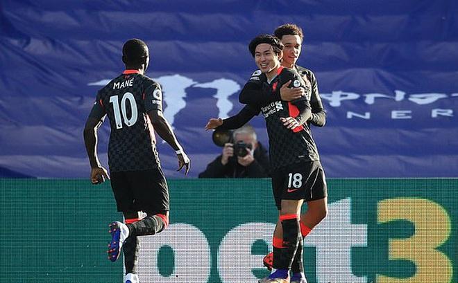 Hủy diệt đối thủ bằng 7 bàn trắng, Liverpool ngạo nghễ ở ngôi đầu Premier League