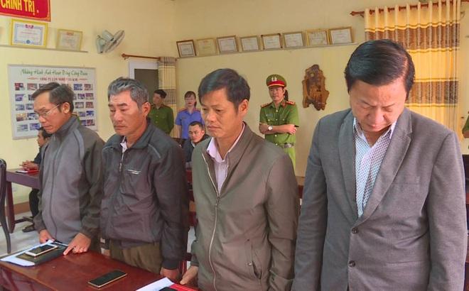 Nguyên giám đốc cùng 3 cán bộ công ty lâm nghiệp bị khởi tố, bắt tạm giam