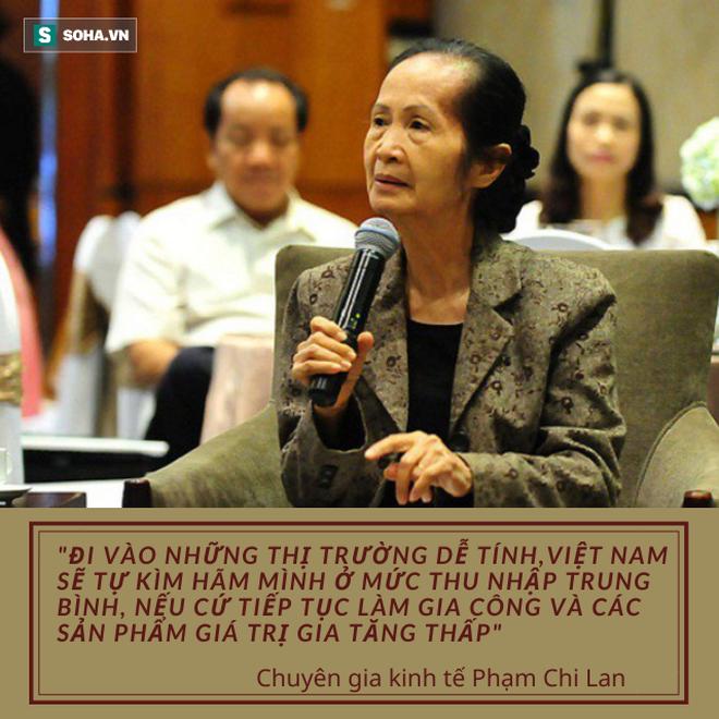 Chuyên gia Phạm Chi Lan: Việt Nam đã quá tự hào về vị trí nhà xuất khẩu có thứ hạng trên thế giới về số lượng, thay vì về chất lượng - Ảnh 1.