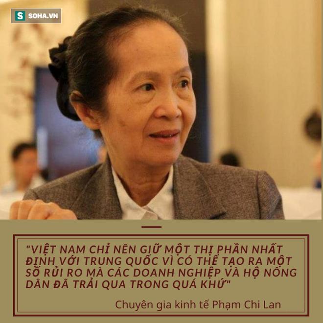 Chuyên gia Phạm Chi Lan: Việt Nam đã quá tự hào về vị trí nhà xuất khẩu có thứ hạng trên thế giới về số lượng, thay vì về chất lượng - Ảnh 2.