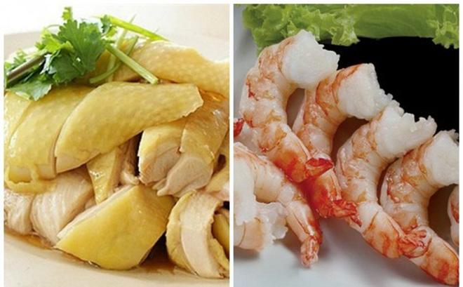 Bị ho phải kiêng thịt gà, tôm, rau cần: Đúng hay sai?