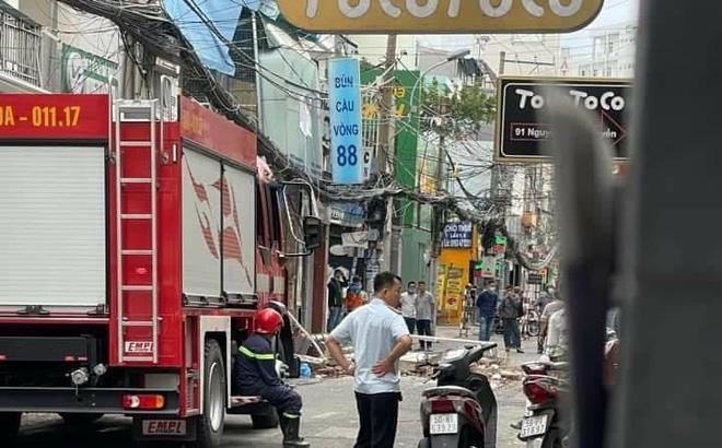 Nổ lớn từ quán bún ở Sài Gòn khiến nhiều người hốt hoảng bỏ chạy