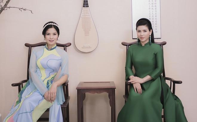 Thúy Hà, Quỳnh Hoa bất ngờ làm mẫu ảnh áo dài