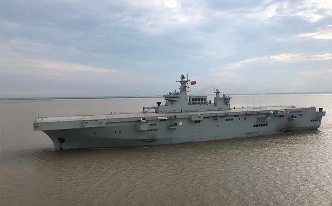 TQ sắp đưa tàu đổ bộ tấn công tiên tiến nhất ra căn cứ ở Biển Đông, chuyên gia cảnh báo gia tăng va chạm