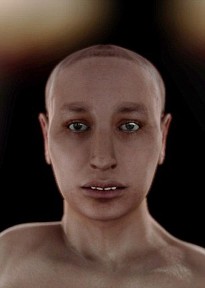 Chuyên gia chụp 2000 tấm ảnh X-quang, tái hiện dung mạo Pharaoh Tutankhamun - Răng và bàn chân đều có vấn đề - Ảnh 5.