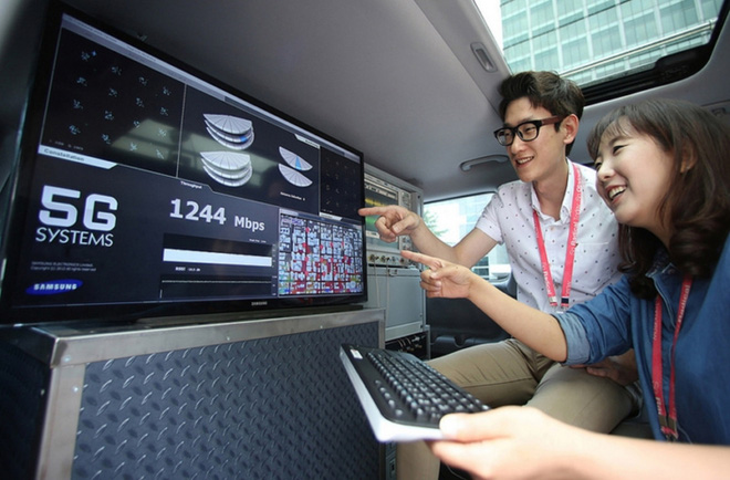 Vị thế dẫn đầu thị trường smartphone 5G của Samsung có ý nghĩa như thế nào? - Ảnh 1.