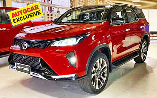 Bản nâng cấp của chiếc Toyota Fortuner có gì mới? - Ảnh 2.