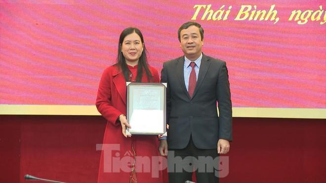 Thái Bình phân công, bổ nhiệm hàng loạt chức vụ lãnh đạo - Ảnh 1.