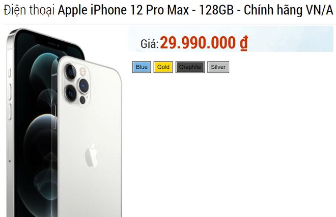 5 mẫu iPhone giảm giá cực sâu, đỉnh nhất là iPhone 12 Pro Max đang bán rẻ 3 triệu đồng - Ảnh 1.