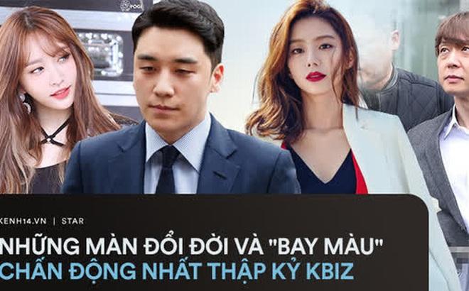 """4 màn đổi đời và """"bay màu"""" chấn động thập kỷ Kbiz: Chỉ 1 fancam cứu cả EXID, Seungri - Yoochun mở đầu chuỗi bê bối rúng động"""