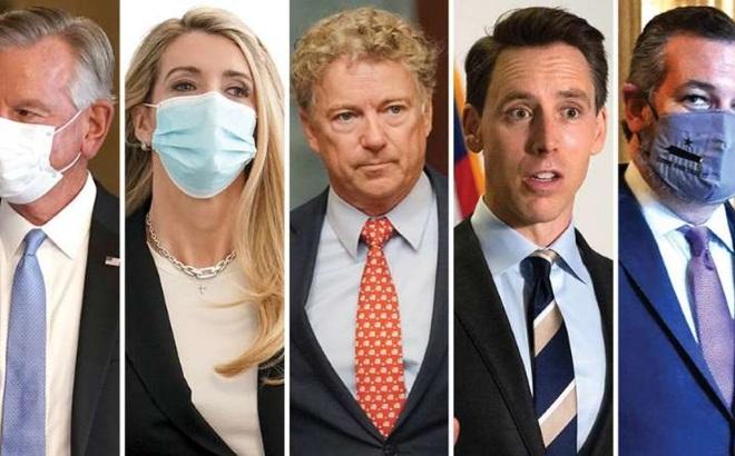 """5 nhân vật đảng Cộng hòa """"trong tầm ngắm"""" có thể giúp Trump đảo chiều bầu cử"""