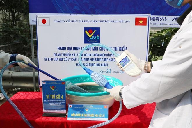 JVE thí điểm xử lý mùi bãi rác Nam Sơn miễn phí bằng công nghệ Nhật Bản - Ảnh 10.