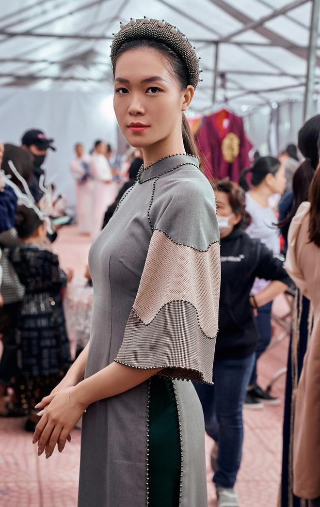 Hoa hậu Thùy Dung làm nàng thơ cho NTK Cao Minh Tiến - Ảnh 3.