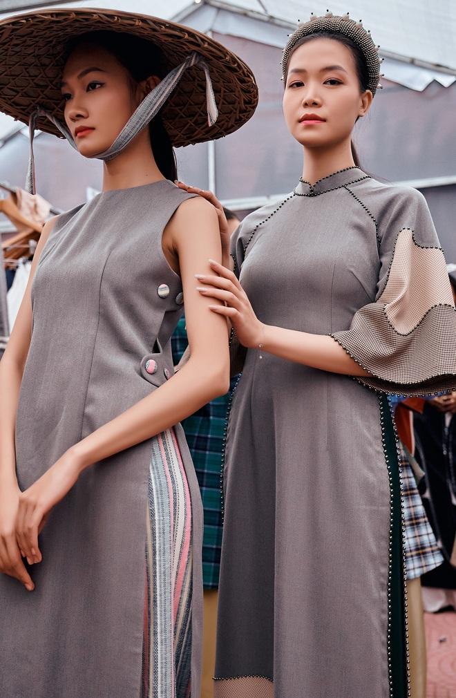 Hoa hậu Thùy Dung làm nàng thơ cho NTK Cao Minh Tiến - Ảnh 2.