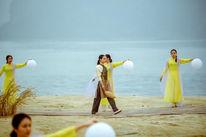 Hoa hậu Thùy Dung làm nàng thơ cho NTK Cao Minh Tiến - Ảnh 6.