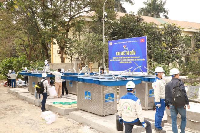 JVE thí điểm xử lý mùi bãi rác Nam Sơn miễn phí bằng công nghệ Nhật Bản - Ảnh 2.
