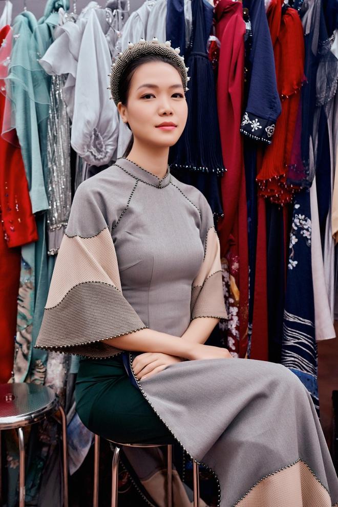 Hoa hậu Thùy Dung làm nàng thơ cho NTK Cao Minh Tiến - Ảnh 1.