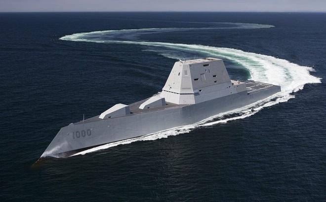 Tàu khu trục Zumwalt của hải quân Mỹ: Làm nên lịch sử hay chỉ là cường điệu?