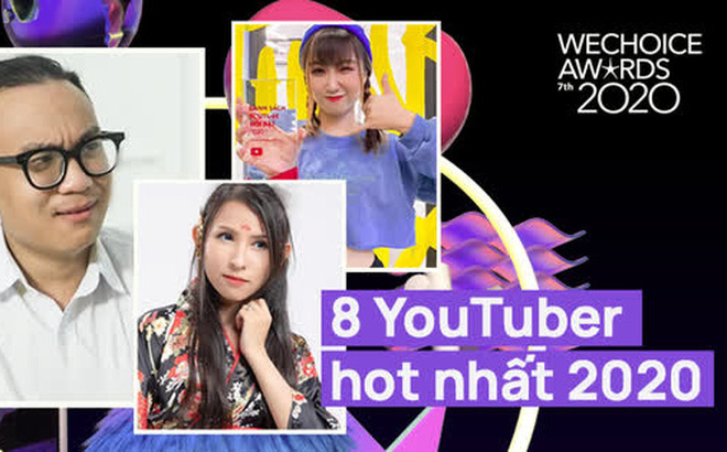 Loạt YouTuber hot hit năm 2020: Thiên An, Di Di dẫn đầu nhóm nhạc chế, Jenny Huỳnh quá đáng gờm!
